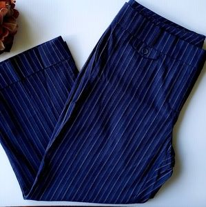 Brand New NY&C Summer Stretch Blue Crop Pant 8